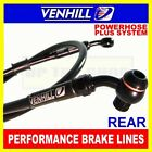 SUZUKI GS650G KATANA 1981-83 VENHILL s/steel braided brake hose rear BLK