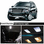 18x White Interior LED Lights Package for 1999 2004 Jeep Grand Cherokee + TOOL