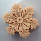 Chrismas Snowflake Handcrafted Silicone Soap Mold DIY Handmade Candle Resin Mold
