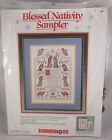 Dimensions Blessed Nativity Sampler Kit Counted Cross Stitch 8357 NIP
