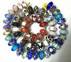 wholesale 58 pieces Authentic Pandora 925 ale silver beads glass murano charm