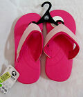 Crocs Girls WAVE Pink Cotton Candy 2 Slide On Flip Flops NEW WITH TAG