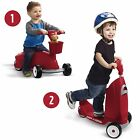 Ride On Tricycle Scooter Radio Flyer Red Kids 3 Wheels Glide Toy Toddler Infant