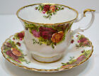 ROYAL ALBERT OLD COUNTRY ROSES BONE CHINA CUP AND SAUCER