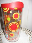16 oz. Fiesta BRIGHT DOTS Wrap Tervis Tumbler w/lid-Made in USA-NWT