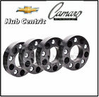 Chevy Camaro 2010 2016 Black Hub Centric 20 MM Thick Wheel Spacers Adapters