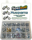 SPECBOLT FASTENERS HUSQVARNA BOLT KIT 2 AND 4 STROKE PLASTICS ENGINE FRAME BODY