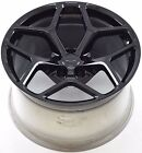 19 CHEVROLET CAMARO Z 28 BLACK WHEEL RIM FACTORY OEM FRONT 2014 2015 5623