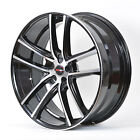 4 GWG Wheels 17 inch Black Machined ZERO Rims fits ET40 JAGUAR S TYPE 2000 2007