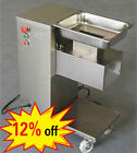 QE commercial meat cutting machine,stainless steel meat cutter,1 blade,12% off