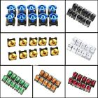 10/20/30PCS Motorcycle Bike M6 6mm Fairing Bolts Kit Body Screw Fastener Clip