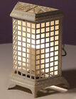 ACCENT LAMP MADE FROM VINTAGE ART DECO THERMADOR SPACE HEATER RADIATOR