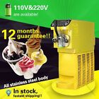 soft ice cream machine,ice cream machine with 5.5L store capacity,control panel