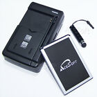 Accessory New 2770mAh Battery Travel Charger Stylus for LG Leon LTE MS345 Phone
