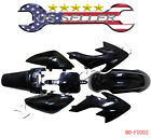 Black Plastic Fairing Fender for HONDA CRF XR 50 CRF50 125 SSR SDG 107 PIT BIKE