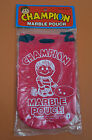 Vintage NEW 1980 Champion Marble Pouch Made in Taiwan
