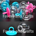 12 Fillable Pacifiers Baby Shower Gender Reveal Favors Blue Pink Girl Boy