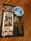 Doctor Who 4th Doctor Tom Baker Dapol Action Figure Carded Rare Unpunched Card