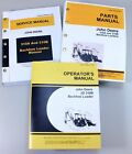SET JOHN DEERE 310B BACKHOE SERVICE PARTS OWNER MANUAL TECHNICAL REPAIR OPERATOR