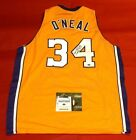 SHAQUILLE O'NEAL AUTOGRAPHED LOS ANGELES LAKERS JERSEY AASH SHAQ