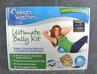 Weight Watchers Ultimate Belly Kit Fitness DVD Recipes Mini Ball New Ships Free