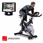 Premium Indoor Cycling Fahrrad Trainer mit Smartphone APP / Fitness Cycle SX400