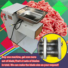 Brand New Slicing Cutting meat machine 500KG/hour 2 cutting blades,QE model