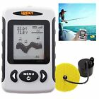 180 Sonar Fish Finder Sea Contour Alarm Temp C F 80m 240ft Frequency 200kHz