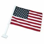 American US Car Window American Patriotic USA Auto Flag 12 x 16 Free Shipping