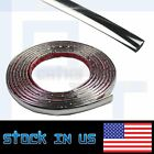 8MM 30ft Durable Silver Chrome Car Styling Decoration Moulding Trim Strip Tape