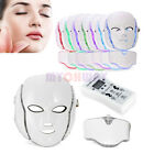 7 Colors PDT Light LED Photon Mask Neck Face Skin Rejuvenation Anti Wrinkles Kit