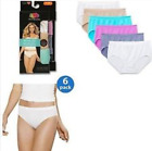 FRUIT OF THE LOOM HI CUTS 18 PK PANTIES NYLON SUPER SALE ALL ASST COLOR+WHITE