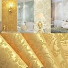 10m Embossed Textured Non woven Wallpaper Roll 3D Flocking Wall Paper Home Decor