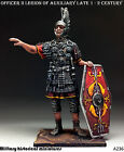 Roman Officer, Tin toy soldier 54 mm, figurine, metal sculpture HAND PAINTED