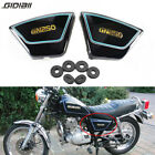 2pcs Motor Black Frame Side Cover Fairing Panels For Suzuki GN250 1982-2001 1986