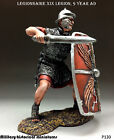 Roman Legionnaire, Tin toy soldier 54 mm, figurine, metal sculpture HAND PAINTED