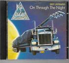 DEF LEPPARD ON THROUGH THE NIGHT 1993 RARE TEAL TRUTONE SOUTH AFRICA ALBUM CD