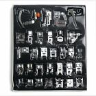 32/42pcs Domestic Sewing Machine Presser Foot Feet Set for Brother Janome Singer