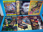 Lot Of (6) ORIGINAL PINBALL MACHINE Sales FLYERS CSI Big Hurt Congo Set  #34