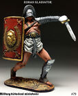 Roman Gladiator, Tin toy soldier 54 mm, figurine, metal sculpture HAND PAINTED