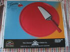Fiesta SCARLET Cake Plate & Server - 1st Quality   New in Box