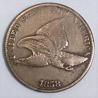 1858 Large Letters Flying Eagle Cent High Grade