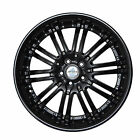 4 GWG Wheels 20 inch Black NARSIS Rims fits NISSAN ALTIMA COUPE 2008 2009