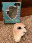 Phantom of the Opera ceramic half mask handmade authentic RARE 1988 Clay Art USA