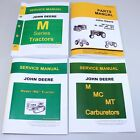 JD JOHN DEERE MC TRACTOR CRAWLER SERVICE PARTS OPERATOR OWNER MANUAL TECHNICAL