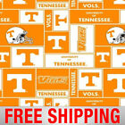 Fleece Fabric University of Tennessee Volts TENN 012 By The Yard Free Shipping