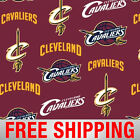 Fleece Fabric Cleveland Cavaliers NBA 60 Wide Free Shipping Style CLEV 5015