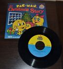 Pac Man The Christmas Story Read Along Book And Record Set Kid Stuff Rare