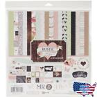 Carta Bella Paper Company Rustic Elegance Collection Kit for Scrapbooking No Ta