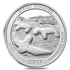 2017 5 oz Silver America the Beautiful ATB Iowa Effigy Mounds National Monument